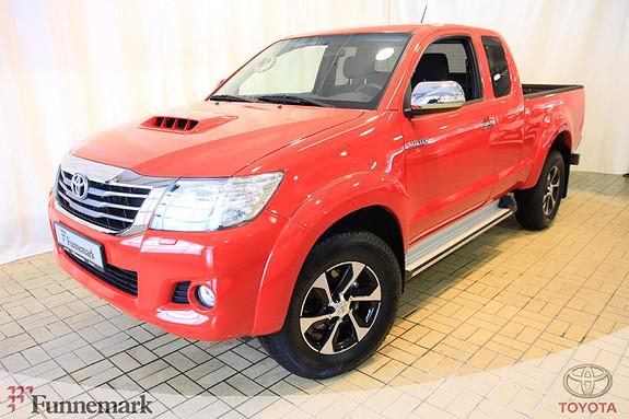 Toyota HiLux D-4D 144hk Extra Cab 4WD SR5  2014, 49254 km, kr 269000,-