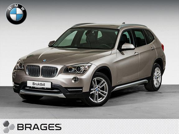 BMW X1 xDrive18d (136hk) aut Cruise, Xenon, Lyspakke, Klima, Pdc++  2014, 37800 km, kr 295000,-