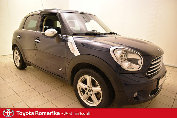 MINI Countryman Cooper ALL4 4X4 ! DAB+  2013, 29 000 km, kr 199 000,-