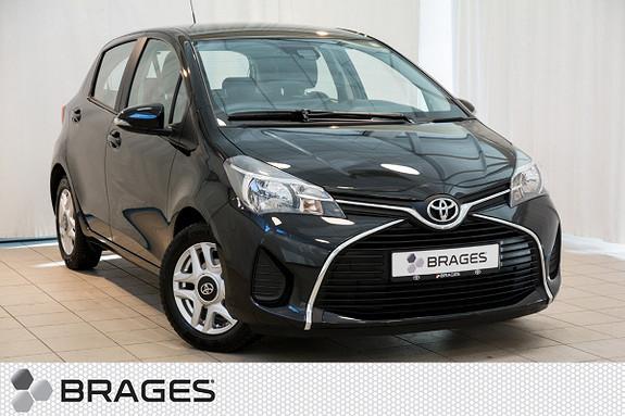 Toyota Yaris 1,0 Active Navigasjon, Ryggekamera, DAB+, Pre-crash  2015, 23800 km, kr 159000,-