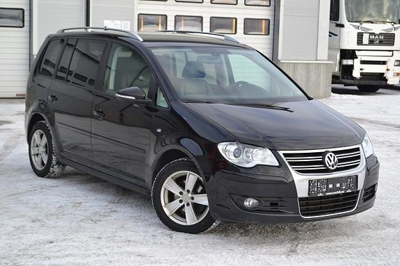 Volkswagen Touran 1,9 TDI Exclusive R-edition NY reg.reim, webasto, skinn  2010, 146819 km, kr 99000,-