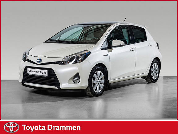 Toyota Yaris 1,5 Hybrid Style  2014, 27835 km, kr 159000,-