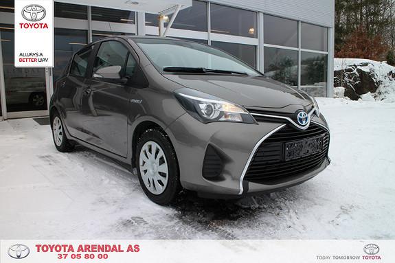 Toyota Yaris 1,5 Hybrid Active S e-CVT  2016, 44400 km, kr 189000,-