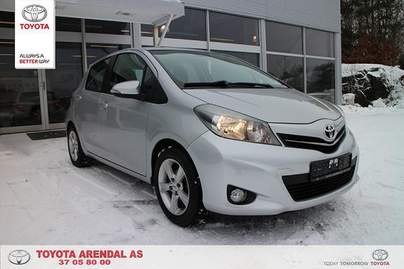 Toyota Yaris 1,33 Style  2014, 51500 km, kr 155000,-