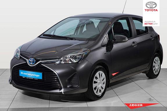 Toyota Yaris 1,5 Hybrid Active S e-CVT  2016, 45300 km, kr 209000,-