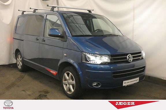 Volkswagen Transporter 2,0 TDI 180hk 4Motion m/vindu 4X4! DSG! WEBASTO! NAVI!  2011, 109950 km, kr 199000,-