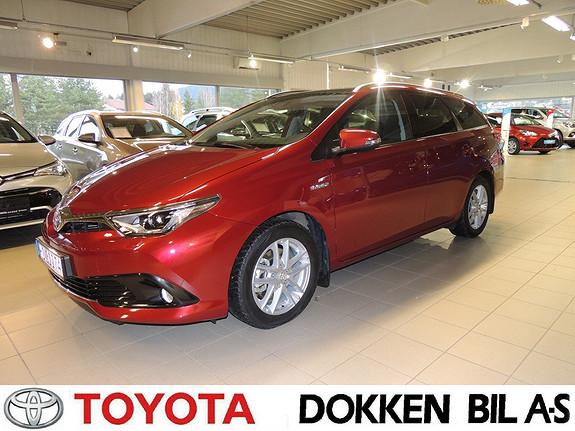 Toyota Auris 1,8 Hybrid E-CVT Style Edition som ny!  2017, 6319 km, kr 309000,-