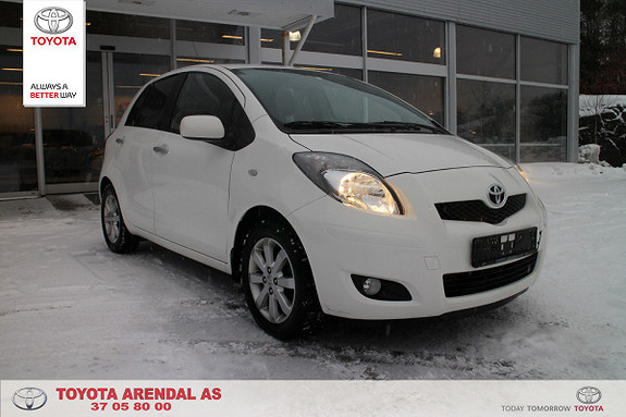 Toyota Yaris 1,33 S-Edition 6MMT  2010, 34 300 km, kr 99 000,-