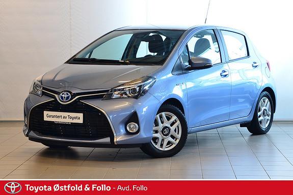 Toyota Yaris 1,5 Hybrid Active S e-CVT  2017, 2226 km, kr 209000,-