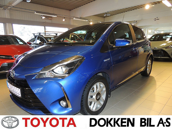 Toyota Yaris 1,5 Hybrid Style e-CVT  2017, 4000 km, kr 239000,-