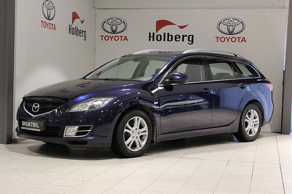 Mazda 6 2,2 D 125 hk Advance BOSE, H.Feste, Cruise, DAB+  2009, 141900 km, kr 109000,-