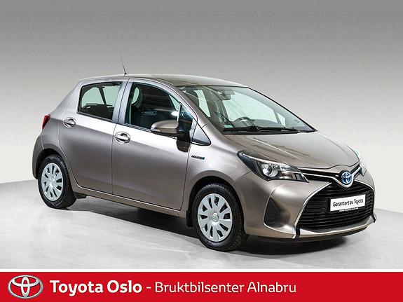 Toyota Yaris 1,5 Hybrid Active e-CVT DAB+, Automat,  2015, 52744 km, kr 168900,-