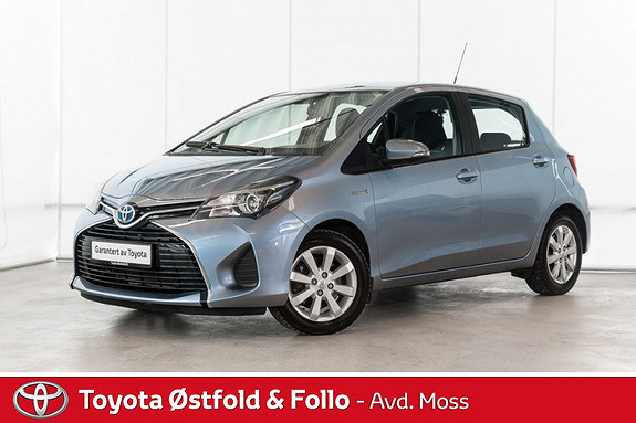 Toyota Yaris 1,5 Hybrid Active Go e-CVT aut /MEGET PEN BIL/KOMPLETT  2014, 40200 km, kr 158000,-