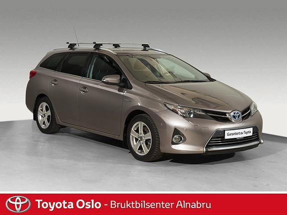 Toyota Auris Touring Sports 1,8 Hybrid Executive Navi, DAB+,  2014, 39607 km, kr 214900,-