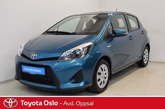 Toyota Yaris 1,5 Hybrid Active , Navigasjon,  2013, 51813 km, kr 139900,-