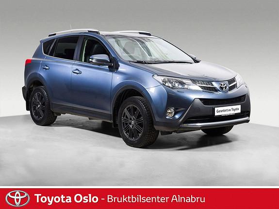 Toyota RAV4 2,0 4WD Multidrive S Executive Hengerfeste, Soltak,  2013, 76894 km, kr 324900,-
