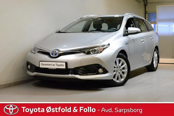 Toyota Auris Touring Sports 1,8 Hybrid Active S  2016, 46100 km, kr 238000,-