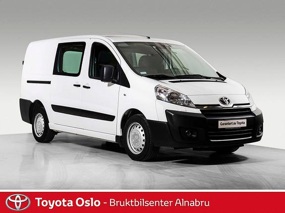Toyota Proace 2,0 128hk L2H1 50.000,- i innbytte  2014, 43110 km, kr 174900,-