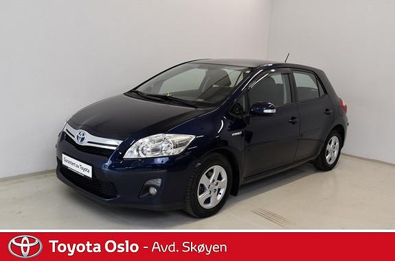 Toyota Auris 1,8 Hybrid Advance HSD  2011, 86100 km, kr 134900,-