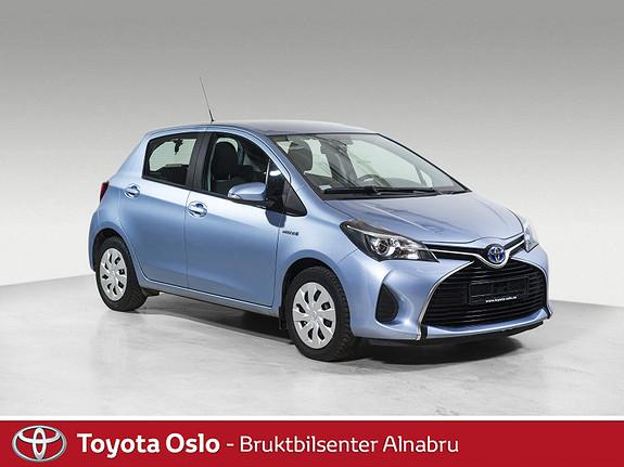 Toyota Yaris 1,5 Hybrid Active e-CVT DAB+, Automat,  2015, 50787 km, kr 169900,-