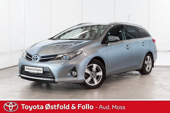 Toyota Auris 1,8 Hybrid E-CVT Executive /TOPP UTGAVE/KOMPLETT SERVIC  2013, 77650 km, kr 188000,-