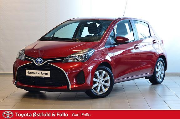 Toyota Yaris 1,5 Hybrid Active e-CVT  2015, 12188 km, kr 179000,-