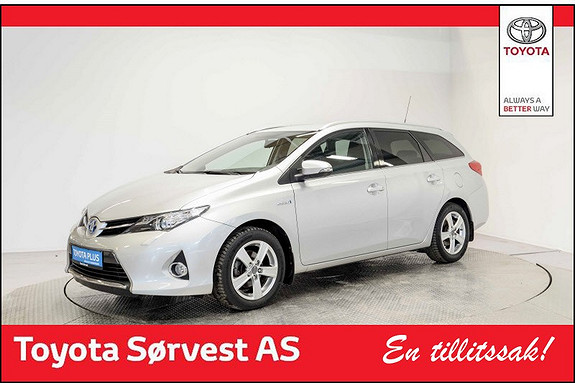 Toyota Auris Touring Sports 1,8 Hybrid Active+ Lav KM!  2015, 32 651 km, kr 238 000,-