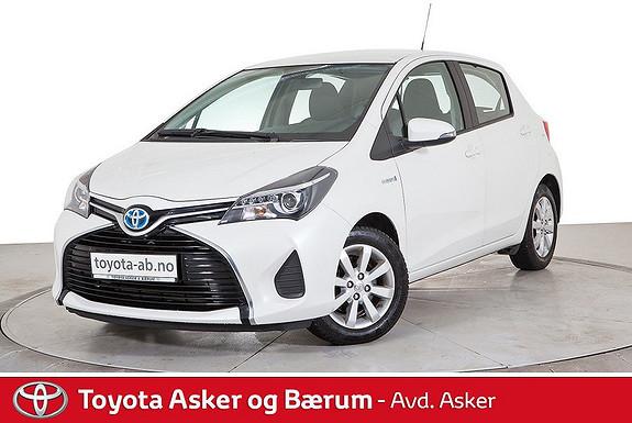 Toyota Yaris 1,5 Hybrid Active FLOTT 1 EIERS BIL  2015, 45300 km, kr 158000,-