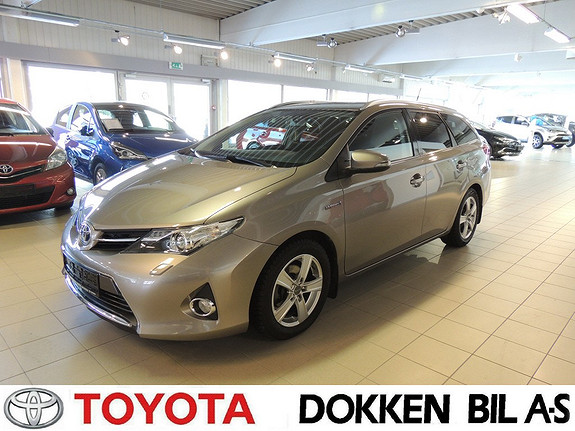 Toyota Auris Touring Sports 1,8 Hybrid Active+  2015, 63 000 km, kr 209 000,-