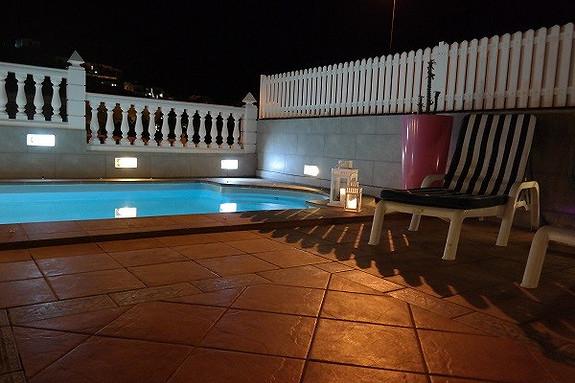 Fantastisk bolig med 4 soverom, 2 bad og privat pool i Loma Dos Arguineguin