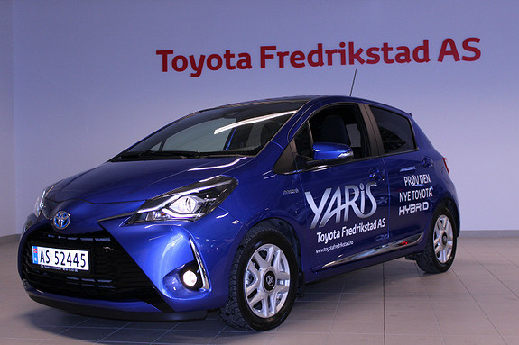 Toyota Yaris 1,5 Hybrid Style + e-CVT aut DEMO  2017, 10000 km, kr 249000,-