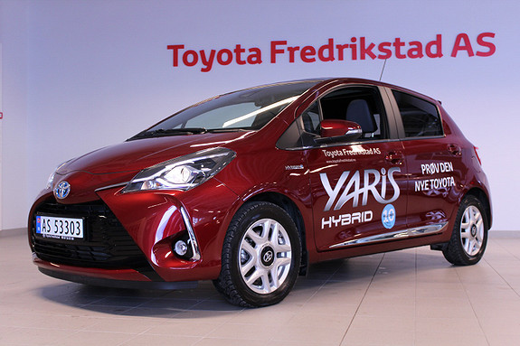 Toyota Yaris 1,5 Hybrid Style + e-CVT aut DEMO  2017, 6500 km, kr 249000,-