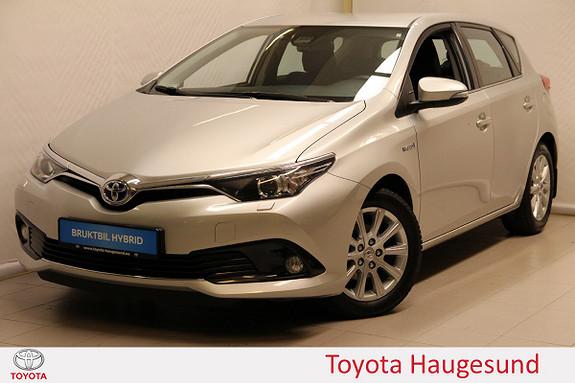 Toyota Auris 1,8 Hybrid E-CVT Active Navi, kamera, DAB+, Bluetooth  2016, 48680 km, kr 235000,-