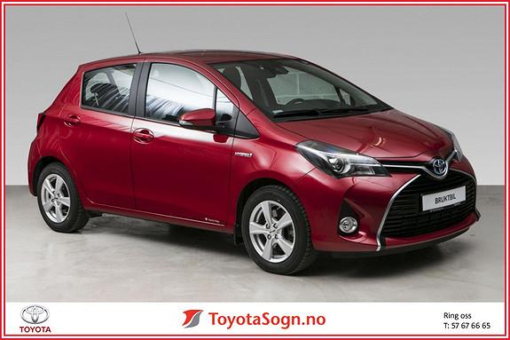 Toyota Yaris 1,5 Hybrid Active S e-CVT  2016, 4590 km, kr 189000,-