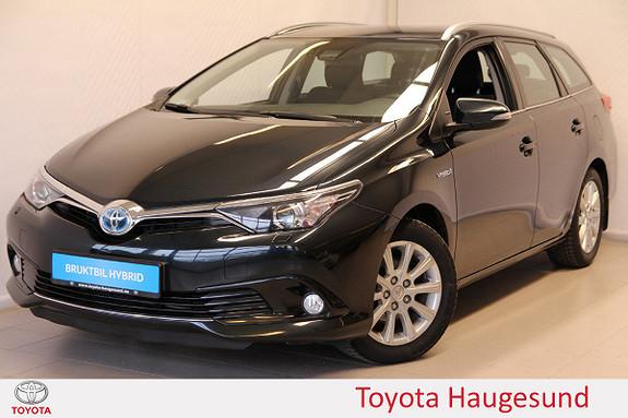 Toyota Auris Touring Sports 1,8 Hybrid Active Navi, kamera, DAB+  2016, 47549 km, kr 235000,-
