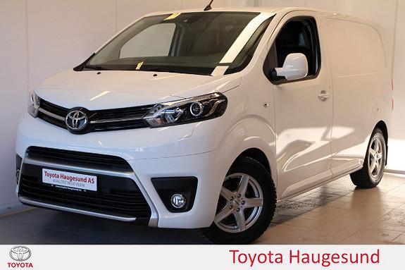 Toyota Proace 1,6 D 95 Comfort Compact L0H1 - Tectylert - lav km -  2017, 4250 km, kr 249000,-
