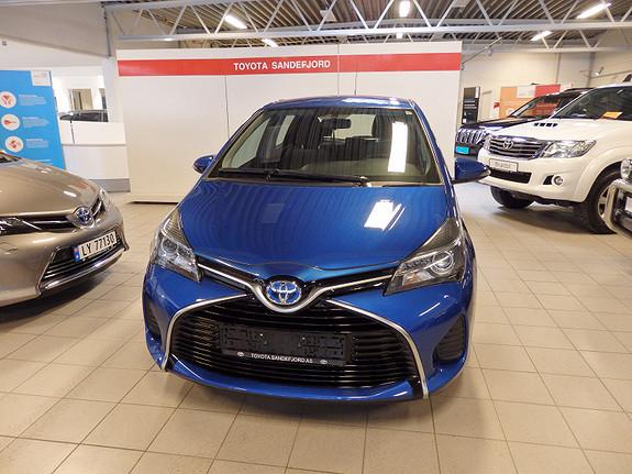 Toyota Yaris 1.5 ACTIVE m/Pakke  2015, 39000 km, kr 189000,-