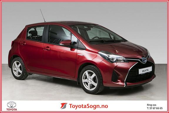Toyota Yaris 1,5 Hybrid Active  2015, 42101 km, kr 169000,-