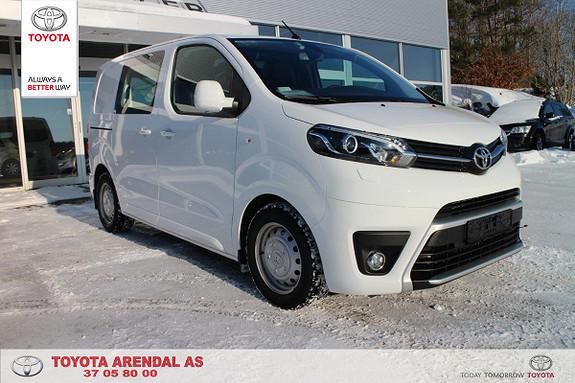 Toyota Proace 1,6 D 95 Comfort Compact L0H1  2016, 15400 km, kr 239000,-