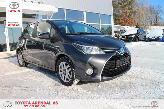 Toyota Yaris 1,5 Hybrid Active e-CVT  2016, 34500 km, kr 189000,-