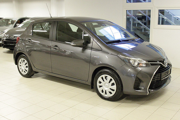 Toyota Yaris 1,5 Hybrid Active S e-CVT  2016, 24000 km, kr 189000,-