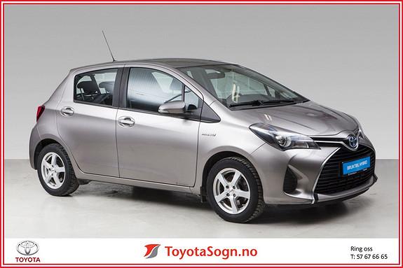 Toyota Yaris 1,5 Hybrid Active  2015, 58108 km, kr 165000,-
