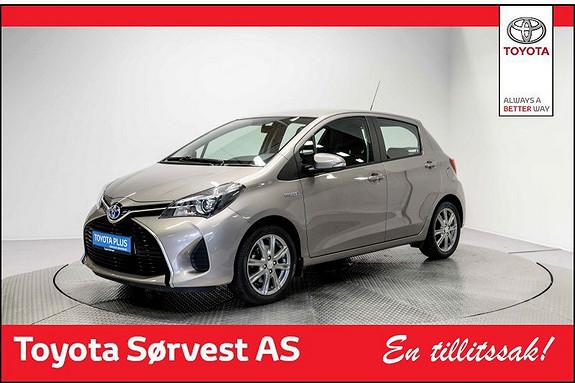 Toyota Yaris 1,5 Hybrid Active e-CVT Strøken bil!  2015, 46032 km, kr 179000,-
