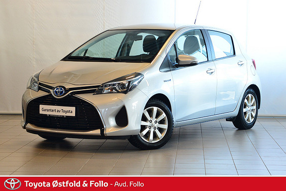 Toyota Yaris 1,5 Hybrid Active e-CVT  2015, 56959 km, kr 159000,-
