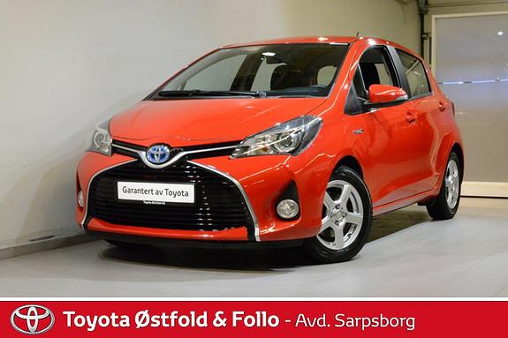 Toyota Yaris 1,5 Hybrid Active  2014, 21900 km, kr 156000,-