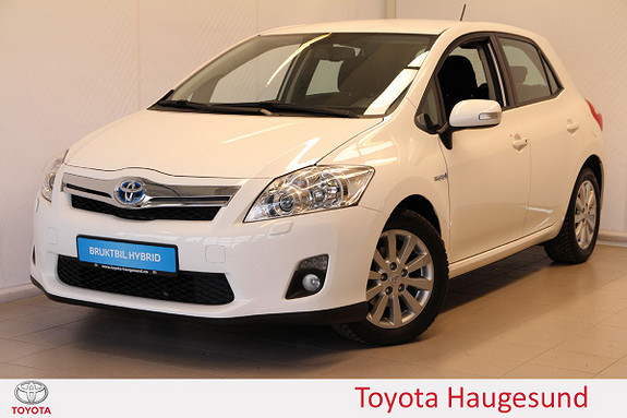 Toyota Auris 1,8 Hybrid Executive HSD Kamera, cruise, B/T, Tectyl  2011, 80595 km, kr 139000,-