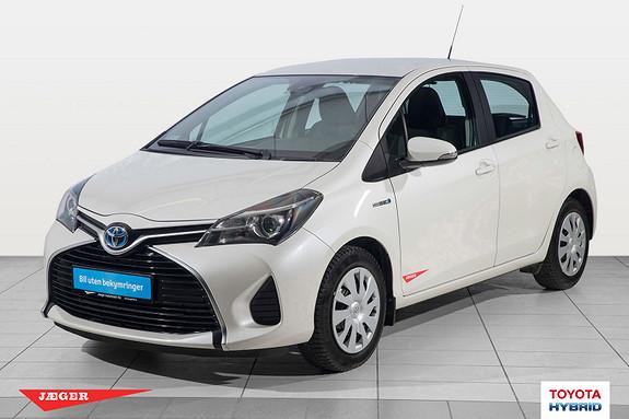 Toyota Yaris 1,5 Hybrid Active S e-CVT M. Toyota Safety Sense  2016, 45999 km, kr 209000,-