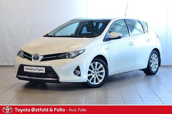 Toyota Auris 1,8 Hybrid E-CVT Executive  2013, 93479 km, kr 168000,-