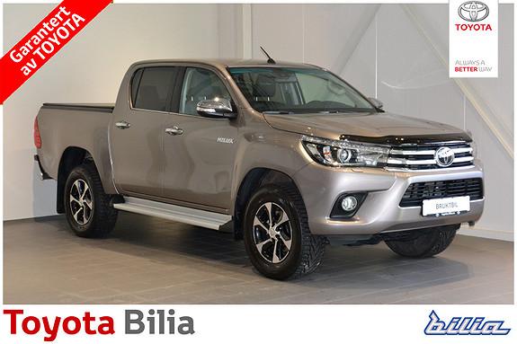 Toyota HiLux D-4D 150hk D-Cab 4WD SR+ aut  2017, 22000 km, kr 419000,-