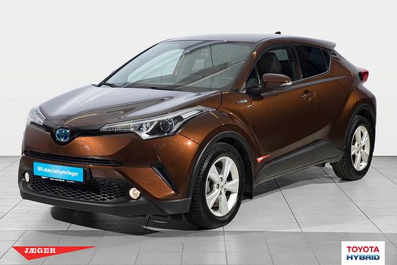 Toyota C-HR 1,8i Hybrid Supreme  2016, 17500 km, kr 329000,-